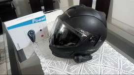 Casco moto con intercomunicador Bluetooth