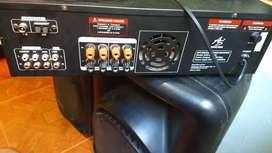 Cabinas de Sonido pasivas con Amplificador