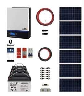 Kit Solar Eco Policristalino 5KW 8KWH x Día