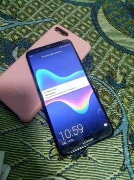 Vendo Huawei y9 2018 en buenas condiciones