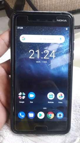Vendo celular Nokia 6 todo funcional en buen estado