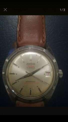 Reloj Josmar Suizo Antiguo de Cuerda Ok