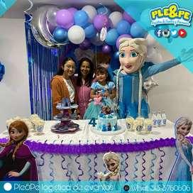 Fiestas infantiles  recreadores   recreacionistas   títeres   payasos   magia   inflables