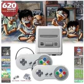 Mini consola retro 620 video juegos