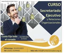 Curso Secretariado Ejecutivo y Relaciones Organizacionales