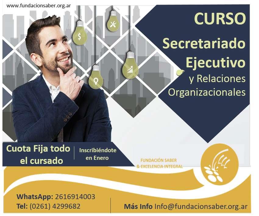 Curso Secretariado Ejecutivo y Relaciones Organizacionales 0