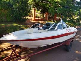 lancha Canestrari Open 160 Motor Mariner 115hp 2T mod 99 impecable