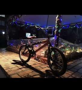 Vendo bicicleta BMX, negociable