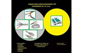 Cables UTP ala medida pach cord