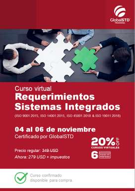 Requerimientos Sistemas Integrados (ISO 9001:2015, ISO 14001:2015 & ISO 45001:2018)