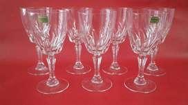 copas francesas de cristal