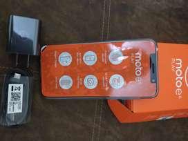 Vendo celular Motorola E6 play
