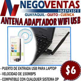 ANTENA ADAPTADOR WIFI USBEN DESCUENTO EXCLUSIVO DE NEGOVENTAS