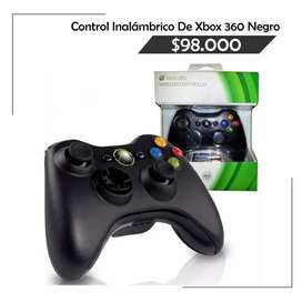 Control Inalámbrico De Xbox 360 Negro