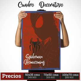 Cuadro decorativo de Spiderman Comic Style