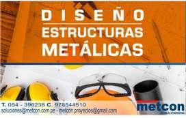DISEÑO, MANTENIMIENTO E INSTALACIÓN DE ESTRUCTURAS METALICAS