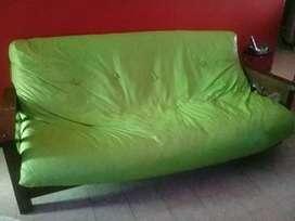Vendo sillón cama usado