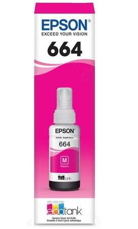 Tinta Epson T664320 Magenta Botella 70ml Original Nueva Sellada