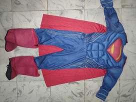 Disfraz de superman talla 5-6