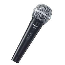 Microfono Shure SV100 vocal de mano con cable