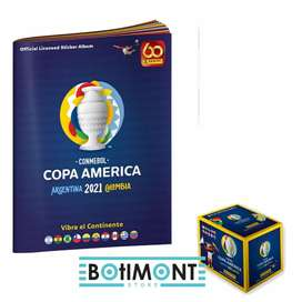 Caja panini copa América 2021mas álbum