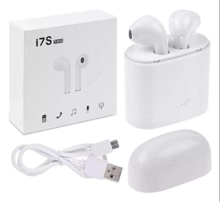 Auriculares Inalambricos i7 Recargables Bluetooth 0
