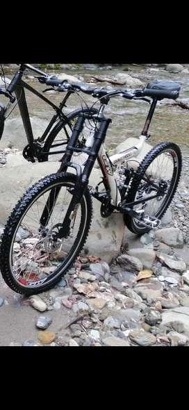 Bicicleta GW Double Shock