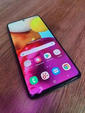 Vendo Samsung A71 En Perfectas Condiciones Sin Detalles Con Factyra Y Garantia Interesados Llamar O Hablar Al Whatsapp