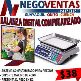 BALANZA DIGITAL COMPUTARIZADA