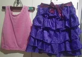 "Disfraz conjunto ""Violeta"""