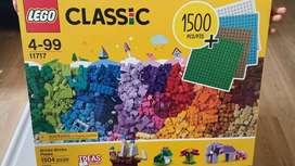 CAJA DE LEGOS ORIGINAL NUEVO (1500 Piezas + 4 Bases)
