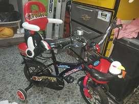 Bicicleta Luminosa d Spiderman