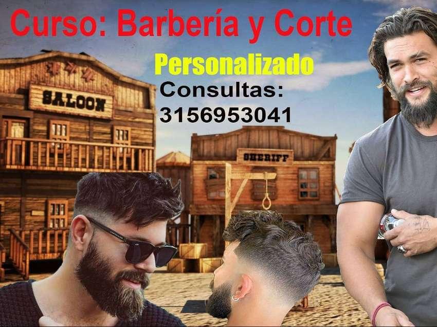 """""""PERSONALIZADO"""" Curso de BARBERIA Y CORTE 0"""