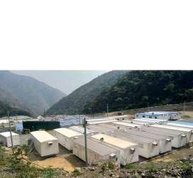 Alquiler de contenedores casetas plantas de de agua generadores