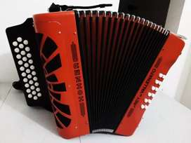 Acordeón Hohner Rey vallenato 5 Letras