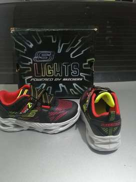 Tennis Skechers con Luces
