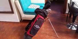 bolsa callaway de golf con 11 palos ram
