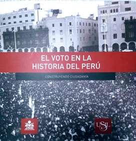 El Voto En La Historia Del Perú - JURADO NACIONAL DE ELECCIONES / USIL