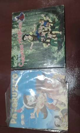 vendo CDs para niños