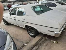 Se vende Chevy 1978 muy bien cuidado, y con motor nissan diesel.