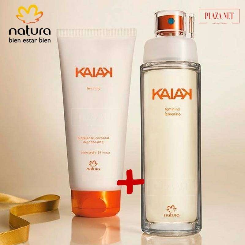 Kit kaiak femenino + crema corporal by Natura 0