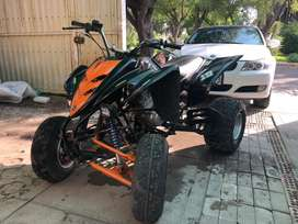 Remato cuatrimoto Yamaha Raptor 250 / motor strong, caja mecanica (precio soles)