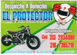 montallantas y mecanica de motos adomicilio 31o8565274