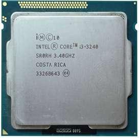 Procesador Intel Core i3-3240  LGA 1155 Operativo tercera generación