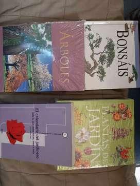 Moron 4 libros de árboles y jardineria/entrego a domicilio zona moron