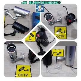 Cámara Dummy Falsa Impermiable Aire Libre CCTV Parpadeo Luz Roja Led Realista