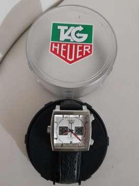 Reloj Tag Heuer Monaco Automatico De Acero Inoxidable