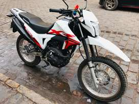 Nueva moto Honda XR 190L