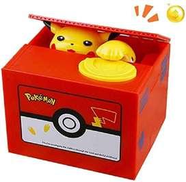 Alcancia Pokémon Roba Monedas