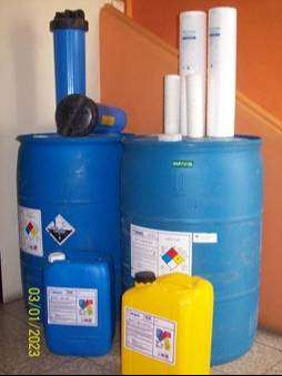 Anticrustante para membrana de osmosis inversa
